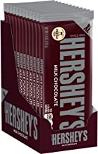 Hershey's Milk Chocolate Halloween Candy, 4.4 Ounce, Extra Large Bars, 12 Count