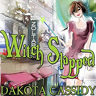 Witch Slapped     Witchless in Seattle, Book 1              By:                                                                                                                                 Dakota Cassidy                               Narrated by:                                                                                                                                 Hollie Jackson                      Length: 6 hrs and 36 mins     605 ratings     Overall 4.2