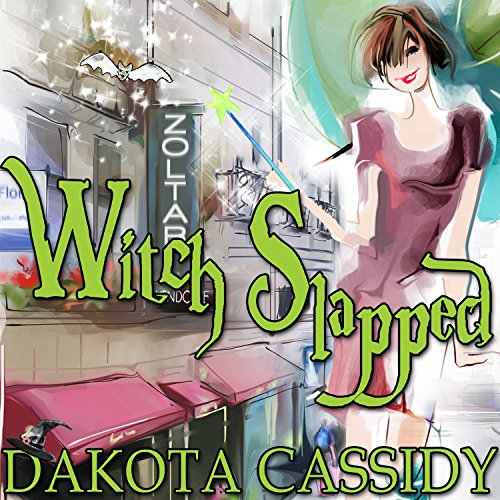 Witch Slapped audiobook cover art