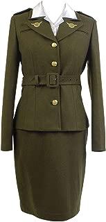 Women's America Officer Carter Dress Cosplay Costume Uniform Suit