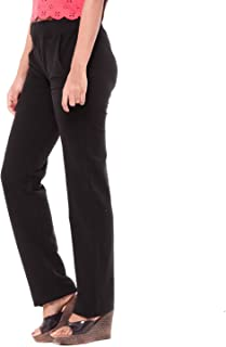 EASY 2 WEAR Women's Straight Fit Pants
