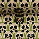 Baumwollstoff BODO Webware, Pandas/Meterware/Kissen