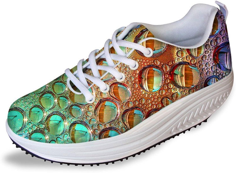 ThiKin Stylish Lace Up Breathable Platform Women's Sport shoes