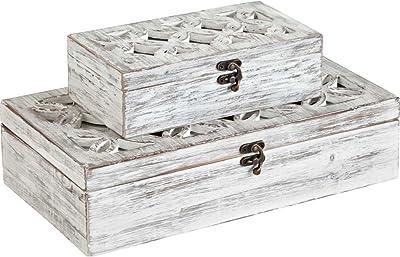 """Mercana 57544"""" Floribundus Box, Set of 2, 4"""" x 23"""" x 13"""""""