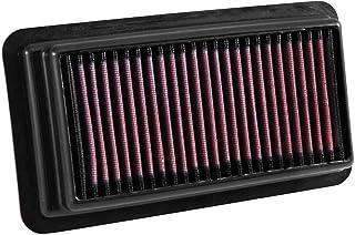 K&N 33-5044 Drop In Air Filter Fit For 2016-2017 Honda Civic 1.5L Turbo Sedan Coupe Sedan Replacement Filter black