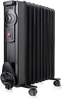 Black+Decker BXRA1500E Radiador, 1500 W, Negro
