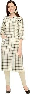 ladyline Casual Kurtis for Women Rayon Indian Womens Tunic top Kurtas
