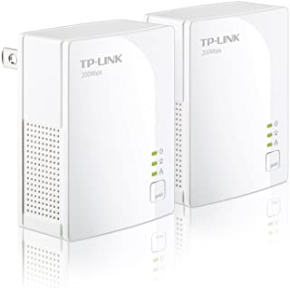TP-Link TL-PA2010KIT AV200 Nano Powerline Adapter Starter Kit, up to 200Mbps