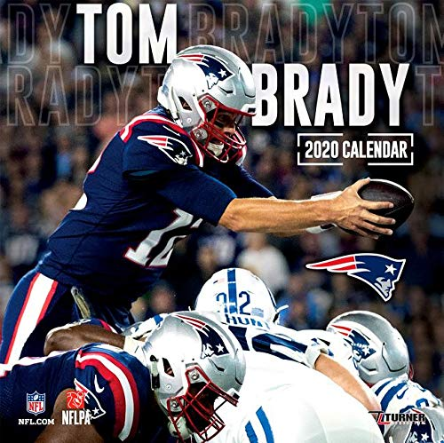 New England Patriots Tom Brady 2020 Calendar