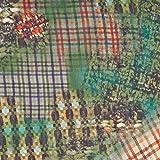 MIRABLAU DESIGN Stoffverkauf Seide mit abstraktem Print in