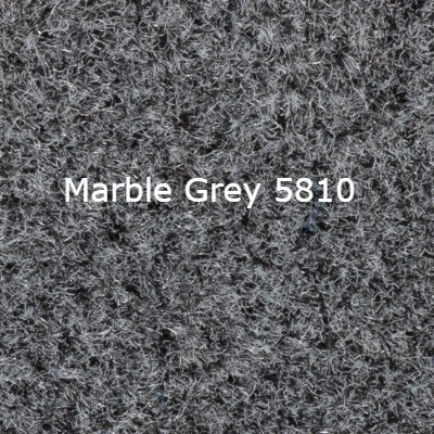 Standard 16 OZ Cut Pile Boat/Marine Carpet - Choose your length, width, and color! Made and shipped in the USA – Quality Guaranteed – Lowest Prices Online (Marble Grey 5810, 6ft W x 20ft L)