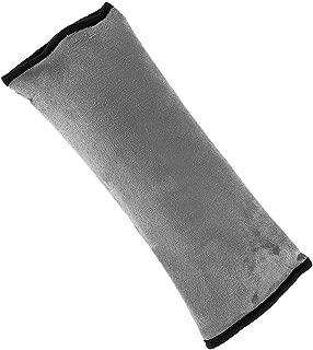 Negro 2 Piezas Protector del Cintur/ón De Seguridad del Autom/óvil,Suave Y C/ómoda para Ayudar A Proteger Su Cuello Y Hombros Semoic Almohadilla del Cintur/ón De Seguridad