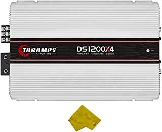 $258 » Taramps 4 Channel Car Amplifier – Class D Multichannel Amplifier 1200 Watt RMS, Car Electronics Car Audio Subwoofer 2 Ohm ...