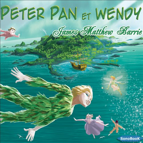 Couverture de Peter Pan et Wendy