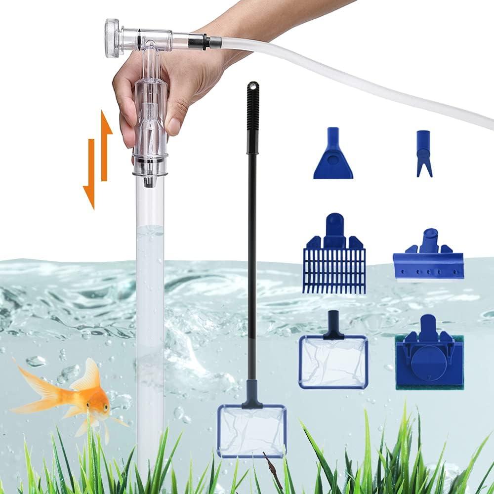 Fish Tank Cleaner Aquarium overseas Siphon Gravel Clean Vacuum - Philadelphia Mall