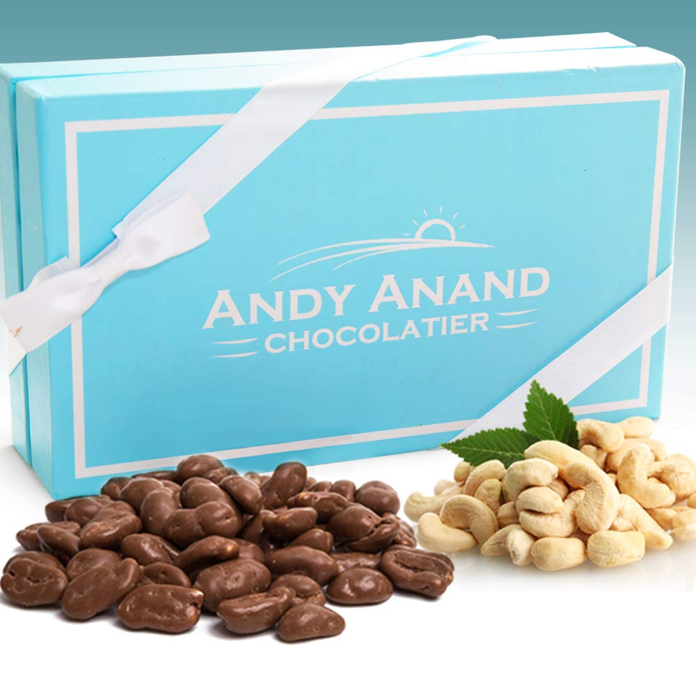 Andy Anand Milk Chocolate Cashews Sale SALE% OFF De Gift Greeting Boxed Outlet ☆ Free Shipping Card