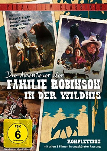 Die Abenteuer der Familie Robinson in der Wildnis - Komplettbox