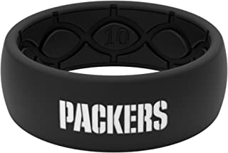 NFL Green Bay Packers - Groove Life Silicone Ring for Men and Women Rubber Band with Lifetime Coverage, Breathable Grooves, Comfort Fit, and Durability - Original