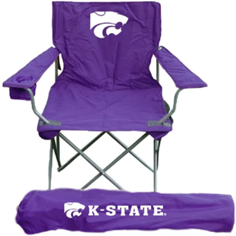Regular discount Rivalry Kansas State Wildcats Adult free Sports - Tailgate NCAA Chair