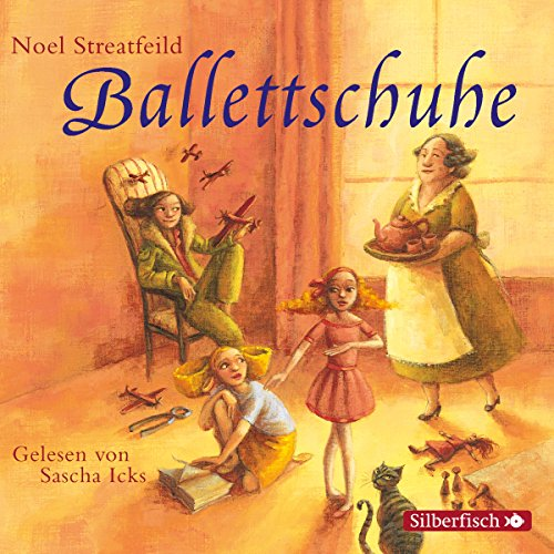 Ballettschuhe audiobook cover art