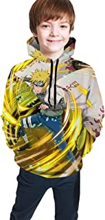 Naruto Kids Hoodies Children Pullover Hooded Sweatshirts with Kangaroo Pocket