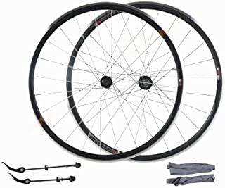 Rueda de bicicleta Juego de ruedas delanteras y traseras de aleación de aluminio con ruedas Juego de ruedas delanteras y traseras de aleación de 32 ruedas Racing Hub de rueda única Bicicleta de montañ