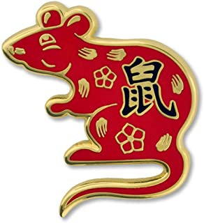 Sponsored Ad - PinMart Chinese Zodiac Year of The Rat New Year Enamel Lapel Pin