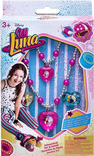 Joy Toy 93763 Disney Schmuckset Soy Luna mit Kette, bunt