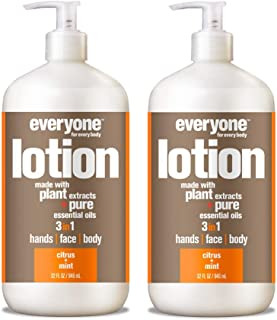 Everyone Lotion, Citrus and Mint, 32 Fl Oz (Pack of 2)