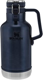 Stanley Classic Easy-Pour Growler 64oz, Insulated Growler Keeps Beer Cold and Carbonated Made...