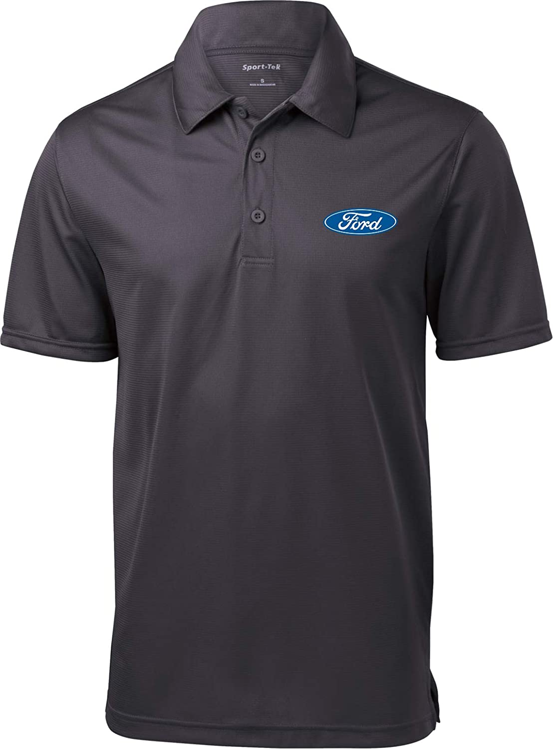Free Shipping Cheap Bargain Gift Ford Oval 55% OFF Textured Pocket Print Polo