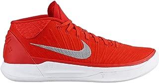 Men's Kobe AD TB Basketball Shoes (11 D(M) US, Orange Blaze/Metallic Silver)