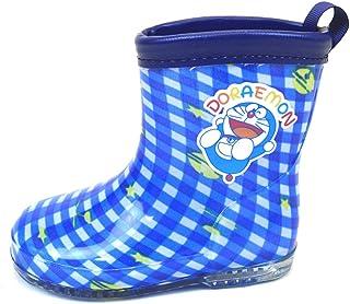 キッズ 子供 用 長靴 ドラえもん DORAEMON レインブーツ 男の子 男児 女の子 女児 雨具 保育園 小学生 fo-47e208 15cm ブルー