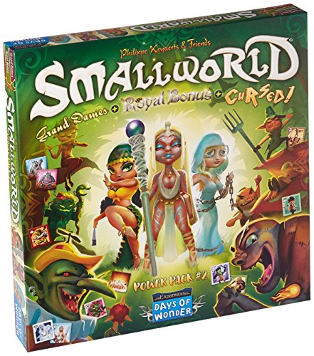 Days of Wonder DOW790024 Small World Race Collection: Maldito, Grand Dames &...