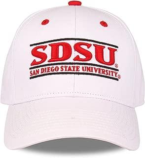 San Diego State Aztecs Adult Game Bar Adjustable Hat - White,