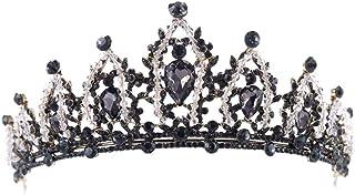 FELICILII Accessori da Sposa Strass di Cristallo Superiore Nuziale del Copricapo Corona Fascia Accessori da Sposa