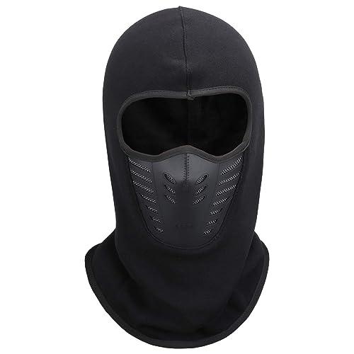 Fantastic Zone Men Winter Balaclava Face Mask Cold Weather Windproof Fleece Ski  Mask Ninja Mask 70f23e80f