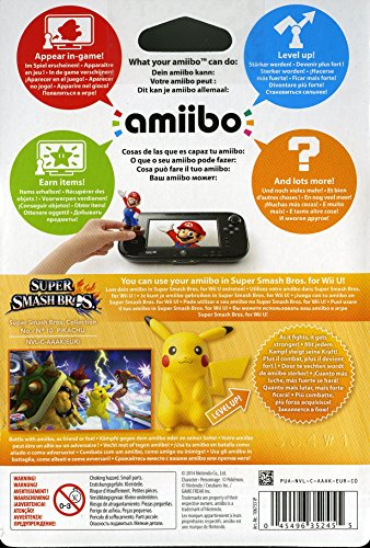 Smash Pikachu Amiibo Figur - 4