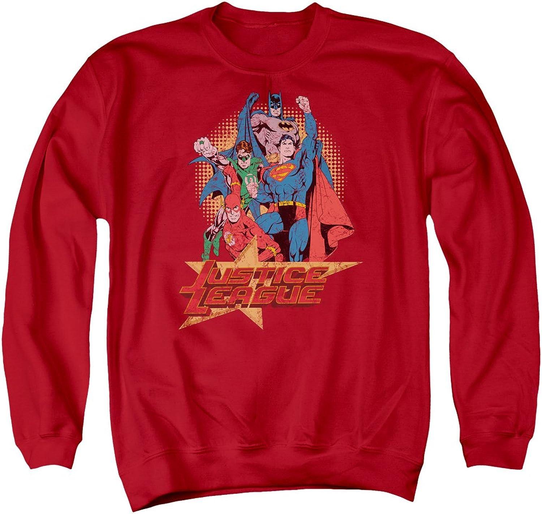 Justice League  Mens Raise Your Fist Sweater
