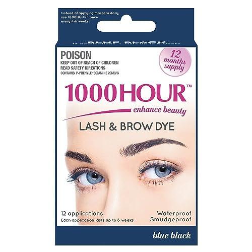 3f7157377c0 1000 Hour Eyelash & Brow Dye / Tint Kit Permanent Mascara (Blue Black)