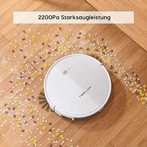 Tesvor x500 pro Saug-Wischroboter 2-in-1 - 4