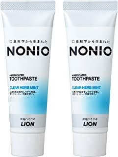 NONIO(ノニオ) [医薬部外品]NONIO ハミガキ クリアハーブミント 単品 130g×2個