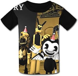 QIANBAIHUI Kids Youth Christmas-B-endy-Toys 3D Printed O-Neck T-Shirt Tees