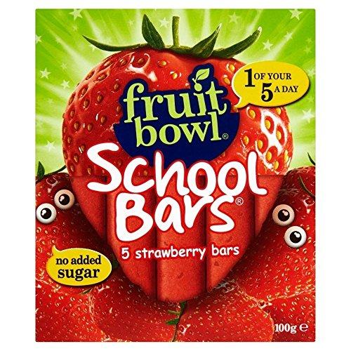 Fruit Bowl School Bars Strawberry (5x20g)