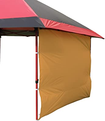 Turtle Life Sunshade Sidewall for 10x10 Pop Up Canopy, 1 Pack,Orange