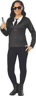 Rubie's Women's Men in Black International Agent M Costume Top