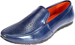 Khadims Boys Faux Leather Loafers