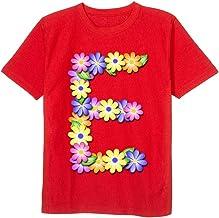 NHOUYAO Women Short Sleeves T Shirt,Cotton Crewneck Loose Size Tall Tee Tops