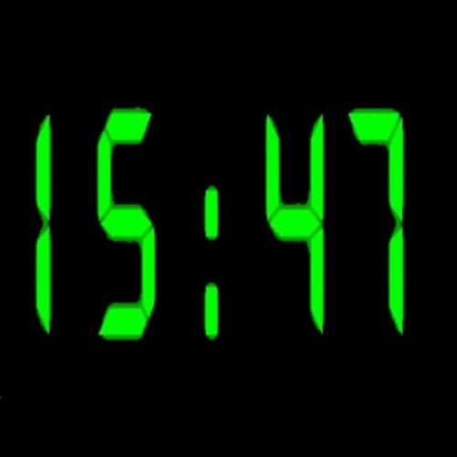 Retro-Style Night Clock