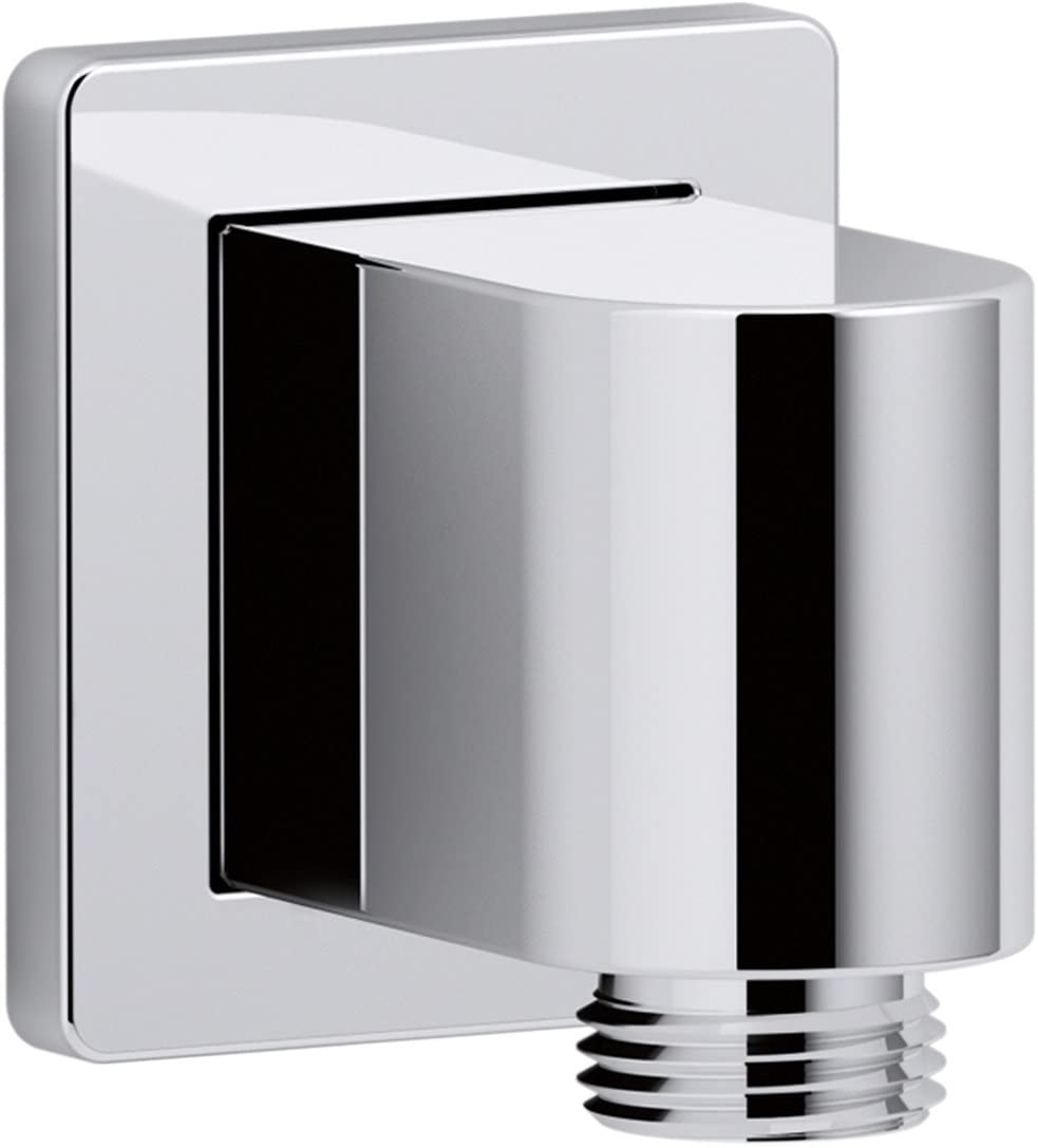Max 71% OFF KOHLER K-98350-CP Shipping included Awaken Wall-Mount Elbow Polished Chrom Supply